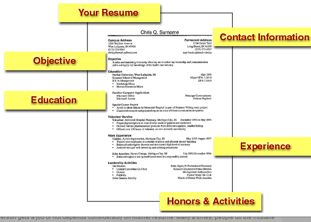 Resume tips for fresher\'s | Students Tips